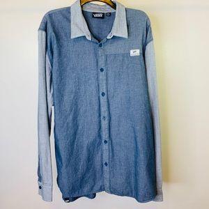 Vans Men's Sole of Skate Button Down Shirt Sz XXL